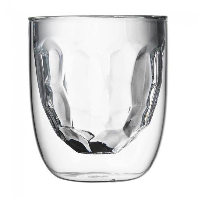 Стаканы Elements Metal 2 шт. 75 мл.Набор Elements - это оригинальные стаканы с двойными стенками и оригинальным дизайном, изображающим главные элементы природы. Выполнен из боросиликатного стекла, устойчивого к перепадам температур. Каждый стакан состоит из двух форм: классическая внешняя позволит держать емкость с горячим содержимым в руке без риска обжечься, а модифицированная внутренняя придаст вашим напиткам необычный вид. Стаканы станут идеальным украшением барной стойки, вечеринки или просто домашней коллекции.  Объем - 75 мл. Можно мыть в посудомоечной машине.<br>