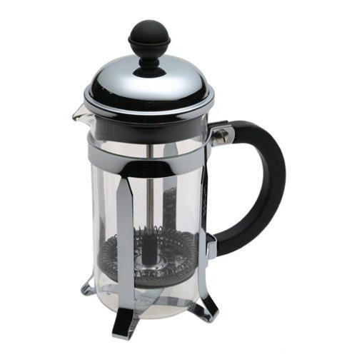 Кофейник с прессом Chambord 0.35л черный