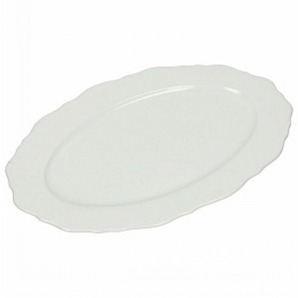 Тарелка овальная  BUTTERFLYТарелка сделана из высококачественного фарфора. Любой ваш салат приобретет особый вкус и будет выглядить еще более аппетитнее. Тарелка также отлично подойдет для сервировки мясной нарезки и рыбы.<br>