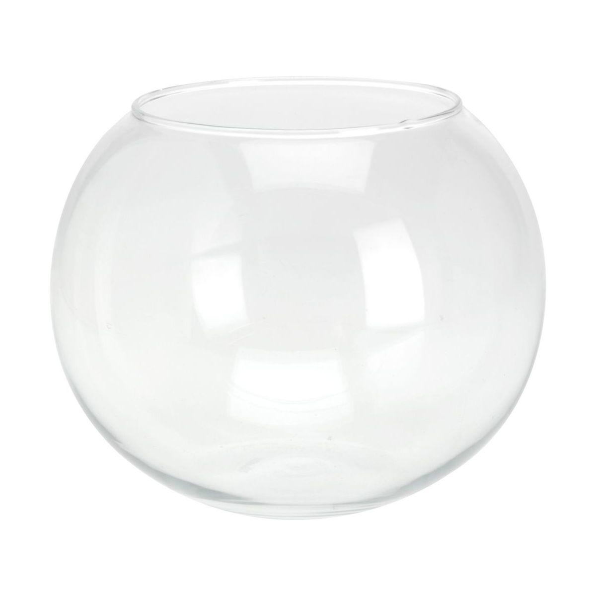 Ваза в форме шараваза, в форме шара, диам. 20 см, выс. 16 см<br>