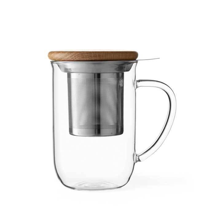 Чайная кружка с ситечком 550 мл Viva Scandinavia Minima