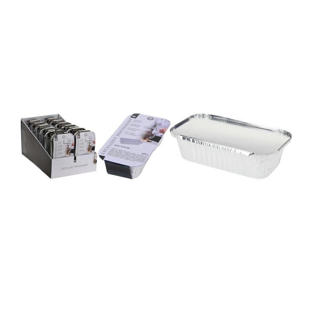 Набор лотков алюминиевых 6 шт Excellent Houseware