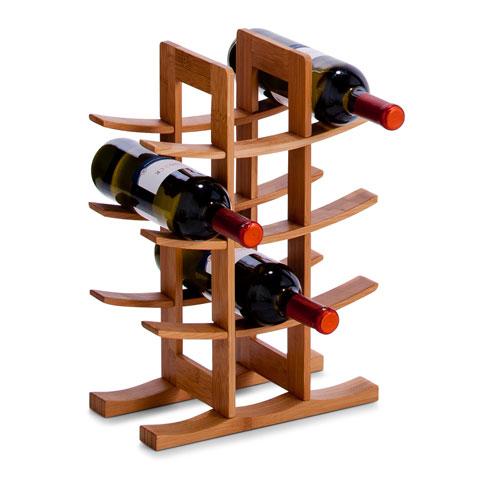 Подставка для бутылок, бамбук  29х16х42 см., 13580 натуральное деревоСоздавая кухонные принадлежности, компания Zeller будто пропитывает их гармонией и новизной. Подставка для бутылок из качественного дерева станет ярким и приятным аксессуаром на кухне. Она содержит бутылки в порядке и выглядит стильно, а значит подойдет для кухонь с любым интерьером.<br>
