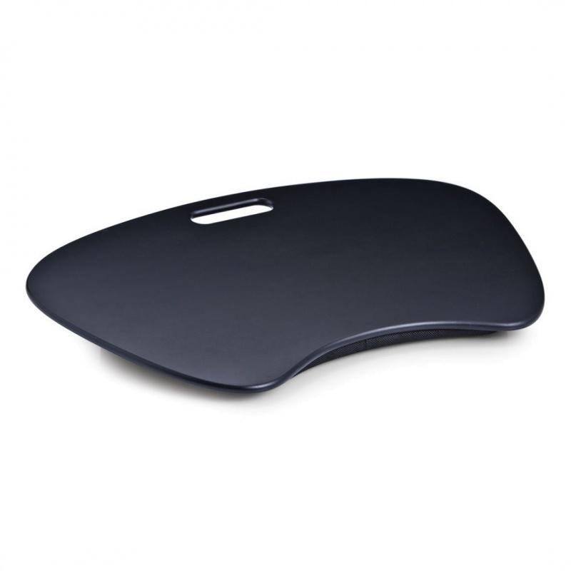 Подставка для ноутбука Zeller 59х40 см черная деревянная