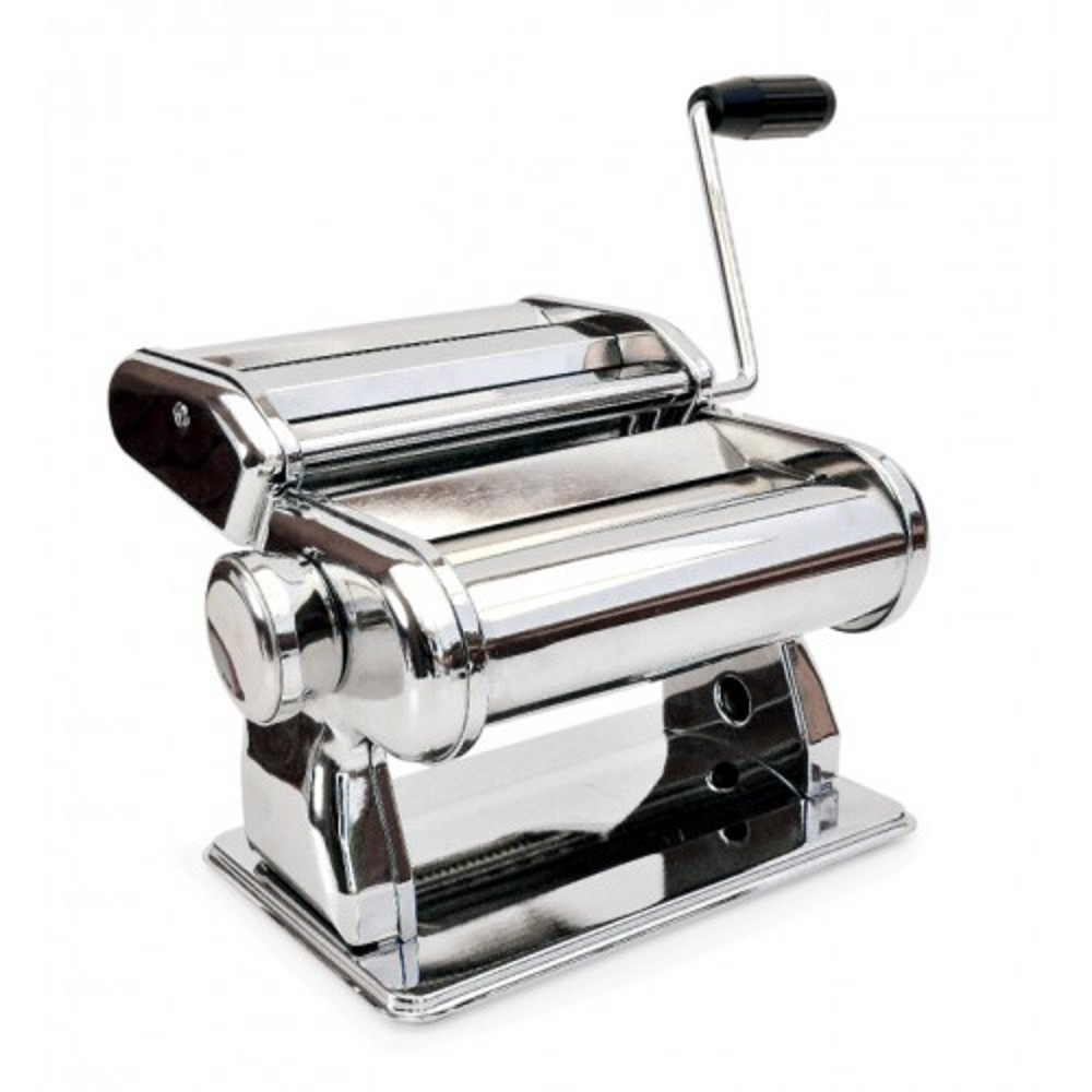 Машинка д/приготовления пасты хромир.стальIRIS PASTA MAKER это механическая, ручная машинка для приготовления домашней лапши и мпагетти. предназначена для раскатывания теста и приготовления домашней лапши и спагетти.  С помощью «Pasta Maker»можно готовить разные блюда от супов, до тортов и  выпечки.<br>