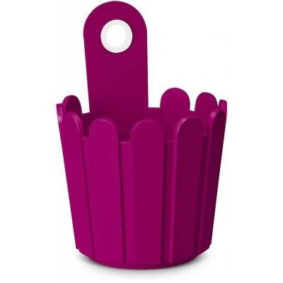 Мини-кашпо LANDHAUS d15 см розовоеНемецкий бренд EMSA дарит жителям мегаполисов прекрасные аксессуары для дома и загородных домов, которые всегда радуют покупателей своим ярким и стильным дизайном и функциональностью. Кашпо из высококачественного пластика розового цвета станет прекрасным украшением Вашего дома. Такой маленький круглый ящик будет прекрасно смотреться на балконе. В нем можно легко высадить комнатные растения или рассаду для дачи.<br>