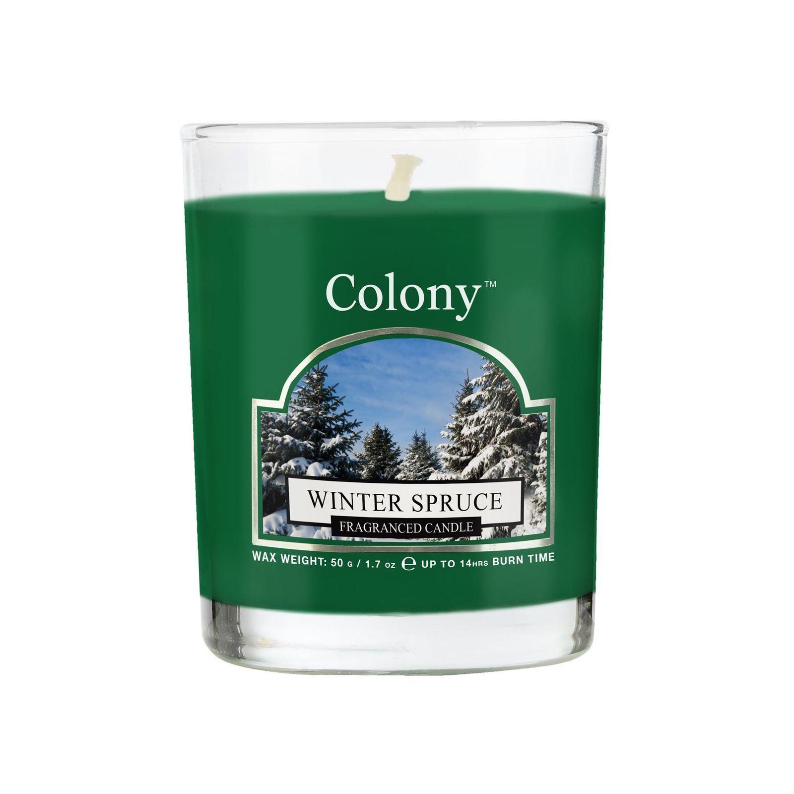 Свеча ароматическая лампадная Зимняя ель<br>
