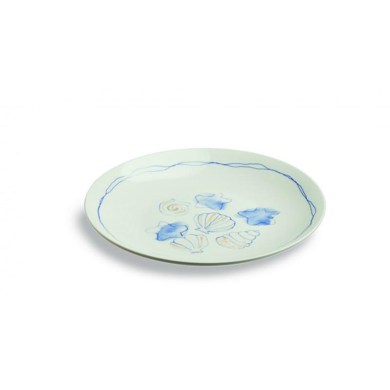 Набор тарелок десертных 3 шт. PERLA CONCHIGLНабор тарелок позволит вам красиво и стильно сервировать праздничный и повседневный стол. Представленная модель изготавливается из качественного фарфора. Этот материал надежно защищен от случайных повреждений в виде царапин и потертостей. Вы можете быть уверены, что изделия надолго сохранят свой первоначальный вид и даже после длительного использования будут выглядеть как новые. Простой и стильный дизайн станет органичным дополнением к сервировке стола.<br>