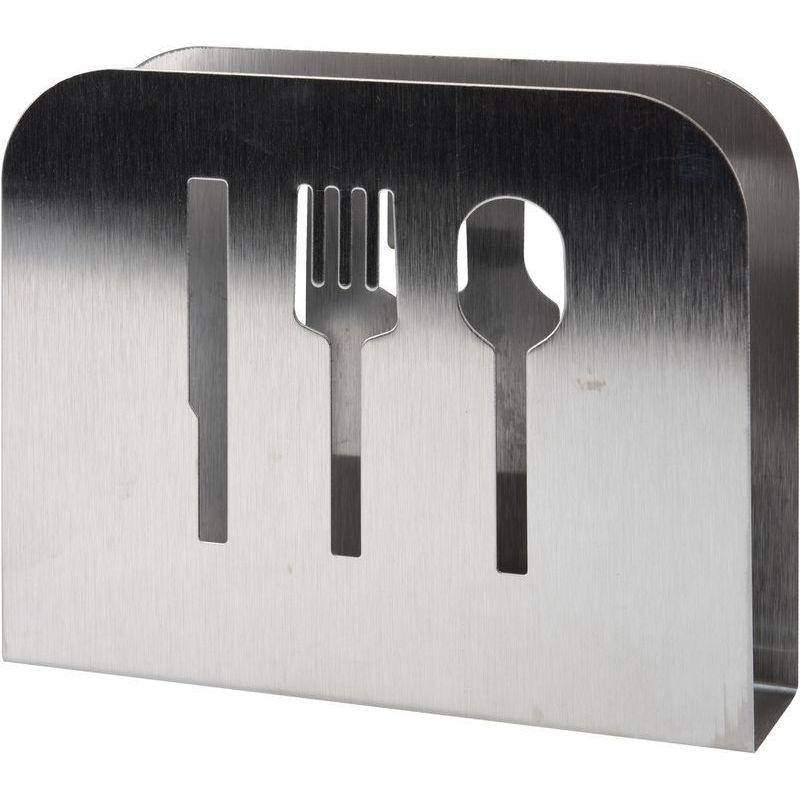 Салфетница металл 15x4x12см