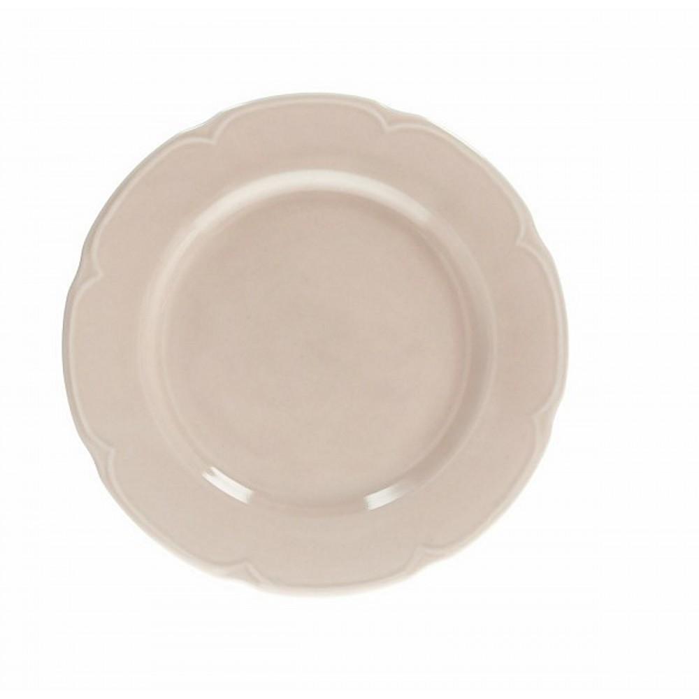 Тарелка обеденная FAVOLA BEIGEТарелка обеденная фирмы Tognana сделана из высококачественного фарфора. Имея оригинальный дизайн, тарелка отлично подойдет для украшения и сервировки ваших блюд. Этот элемент посуды является неотъемлемым на любой кухне.<br>
