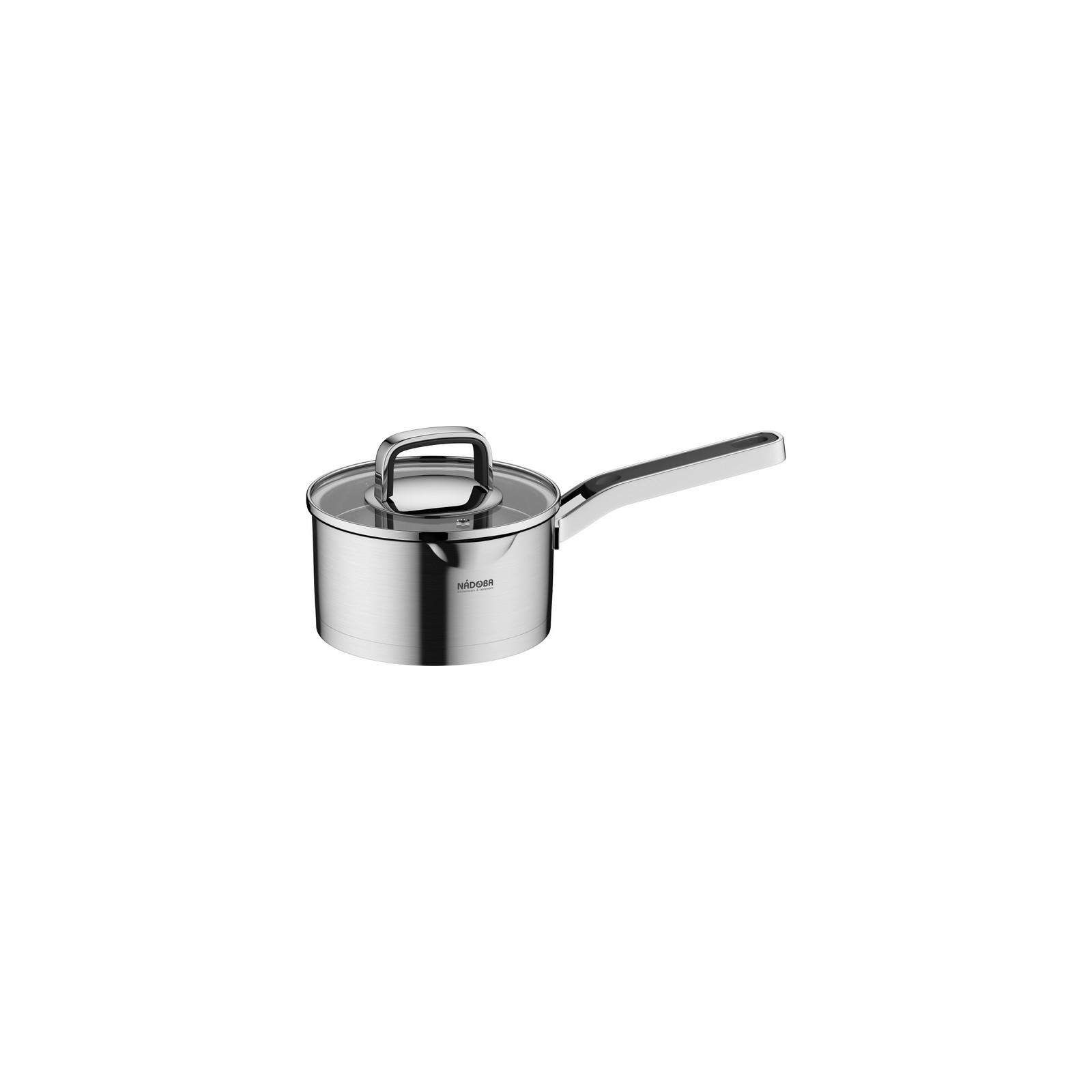 Ковш со стеклянной крышкойNadoba производит высококачественные кухонные инструменты и аксессуары, что подтверждается длительным сроком гарантии. Ковш необходим в каждом доме. Вы останетесь довольны его качеством и эргономичностью.<br>