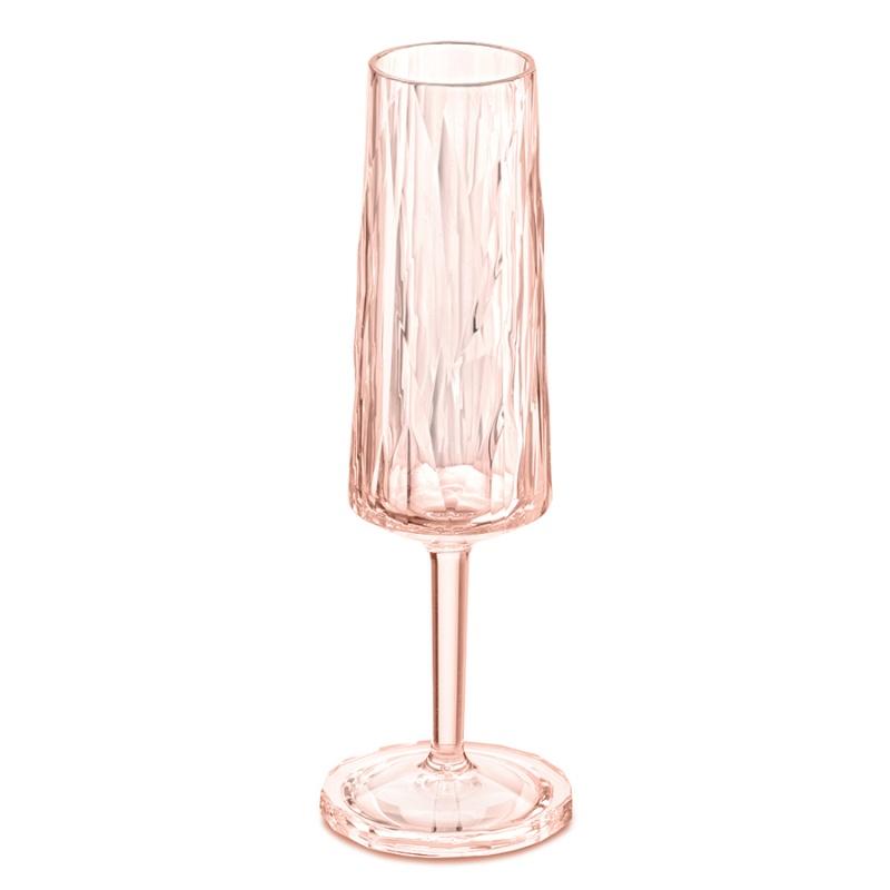 Бокал для шампанского Superglas Club 100 мл розовый
