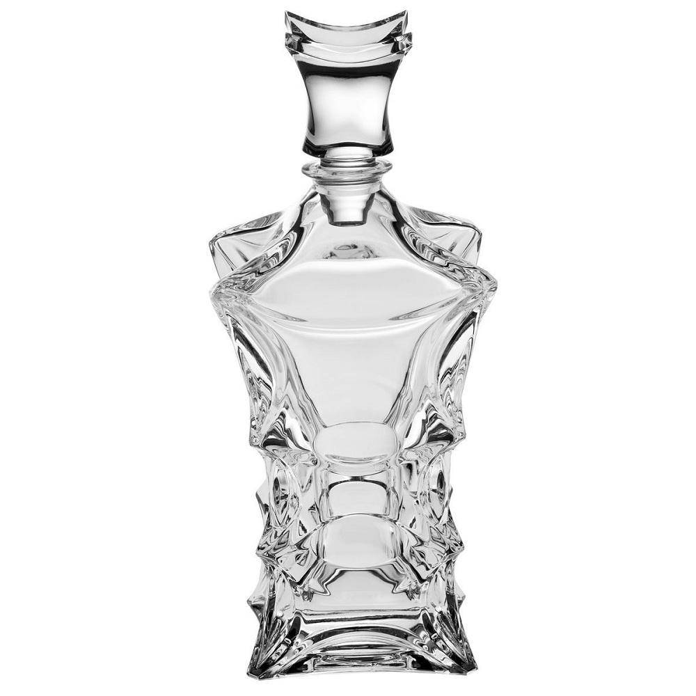 Набор для виски 1 штоф 700 мл + 6 стаканов 240 мл X-LADY прозрачныйCrystalite Bohemia существует с 1967 года. Качество и стиль - отличительные черты посуды этой компании. Стаканы и штоф красиво переливаются, отражая от своих граней лучи света. Они будут не просто выполнять свою функцию, но и украшать стол. Вы только посмотрите на их необычную форму! От них же не возможно оторвать взгляда!<br>