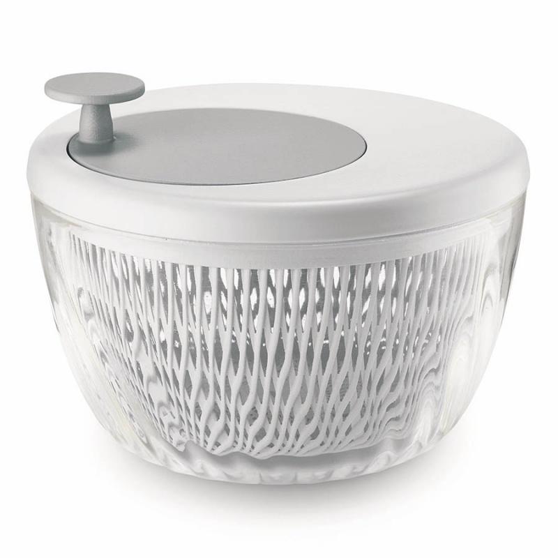 Сушилка-центрифуга для салата Guzzini Twist&Dry белая