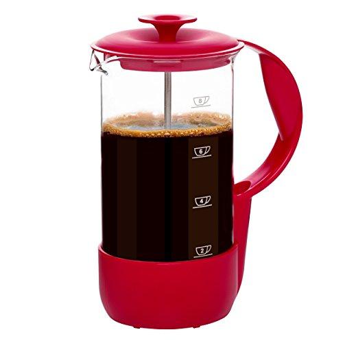 Кофеварка NEO 8 чашек краснаяКомпания EMSA с 1949 года сочетает в себе производство высококачественной продукции вместе с ответственностью за здоровье человека и окружающую среду. Вся посуда этого бренда отвечает современным требованиям стиля, эргономичности и качества. Кофеварка NEO - прекрасное тому доказательство.<br>
