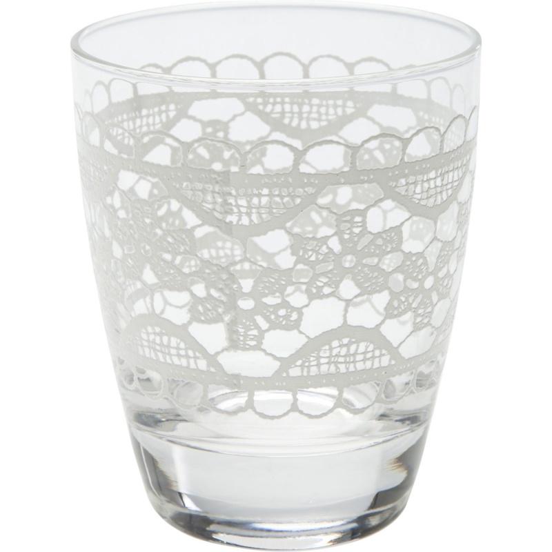 Стакан Kare Design Lace white