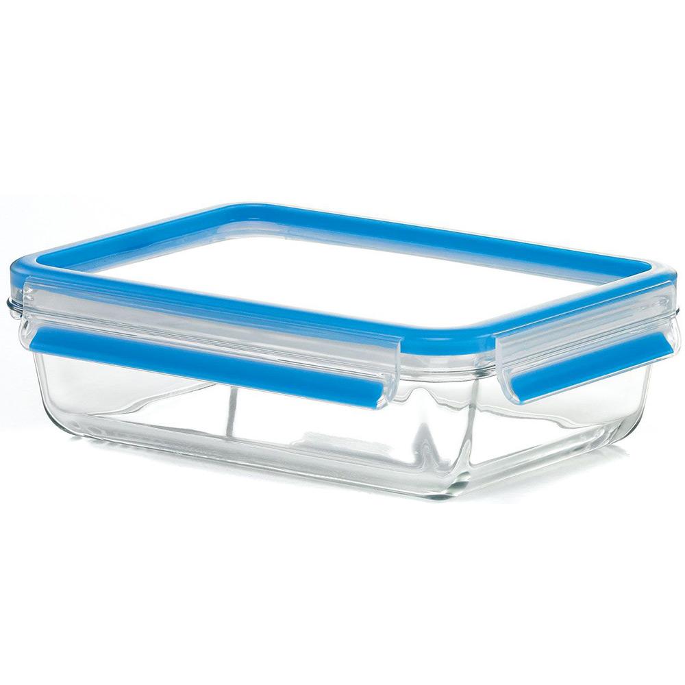 Контейнер стеклянный 0,5 л CLIP &amp; CLOSEКонтейнер изготовлен из жаропрочного диамантового стекла, которое не впитывает запахи и не изменяет цвет. Он плотно закрывается крышкой, герметичный, поэтому ваши продукты долго сохранят свежесть.<br>