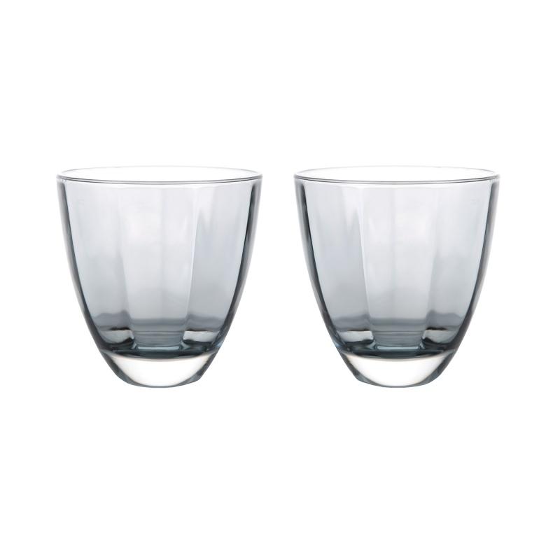Набор стаканов 360 мл Le Stelle Monalisa серый 2 шт