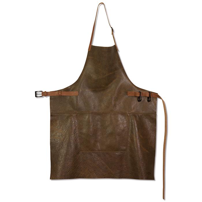 Фартук кожаный Dutchdeluxes BBQ 60x100 см коричневый
