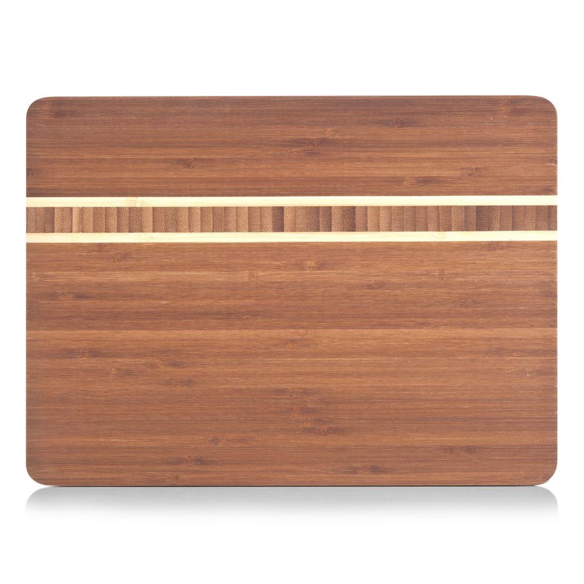 Доска разделочная 34х25х1,6 см. бамбук  25236Доска изготовлена их бамбука с вставками из светлого бамбука, что идеально подойдет к любому интерьеру. Бамбук-инновационный материя,идеально подходит для изготовления досок..Доски из бамбука обладают высокой плотностью структуры древесины, а также устойчивы к механическим воздействиям.<br>
