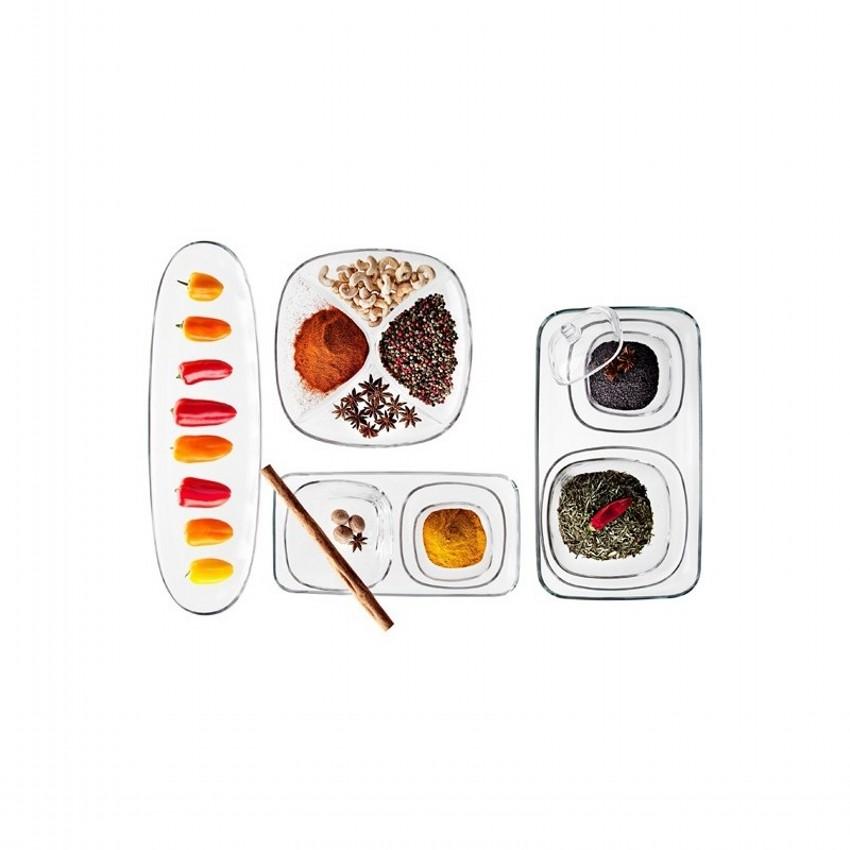 Тарелка для хлеба FENICEVidivi производит качественную и долговечную посуду из стекла. Тарелка для хлеба идеальна для ежедневного применения, а также в качестве украшения праздничного стола. Она хороша и для сервировки фруктов, ягод и других продуктов.<br>