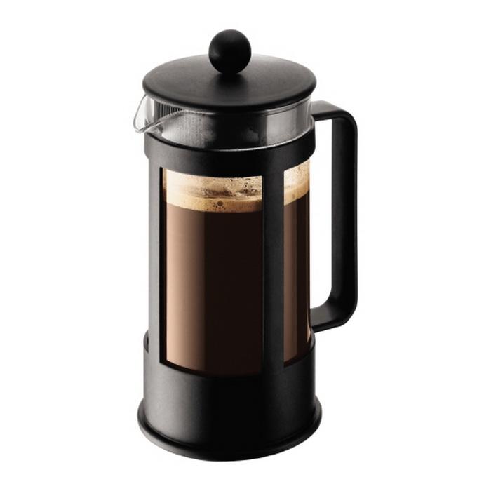 Кофейник с прессом 0.35л Kenya черный