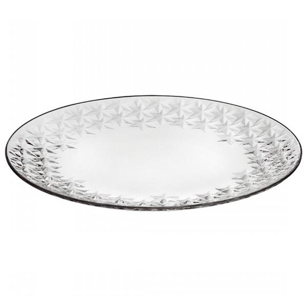 Тарелка GALASSIAТарелка обеденная из серии  GALASSIA имеет оригинальный дизайн, благодаря чему украсит ваш стол и создаст вам праздничное настроение.<br>