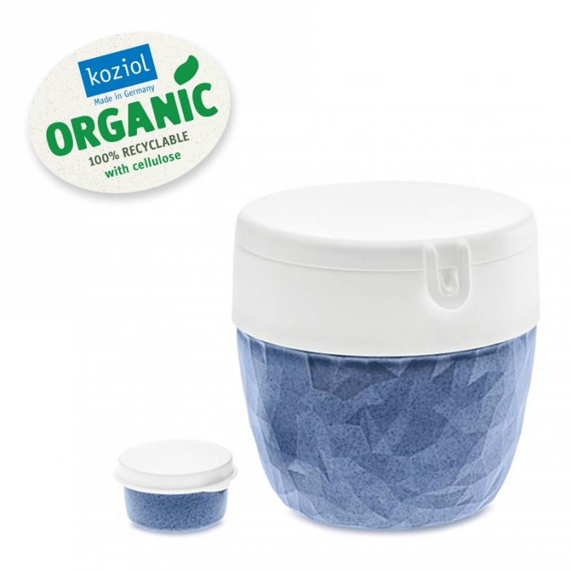 Ланч-бокс Club Bento organic синий