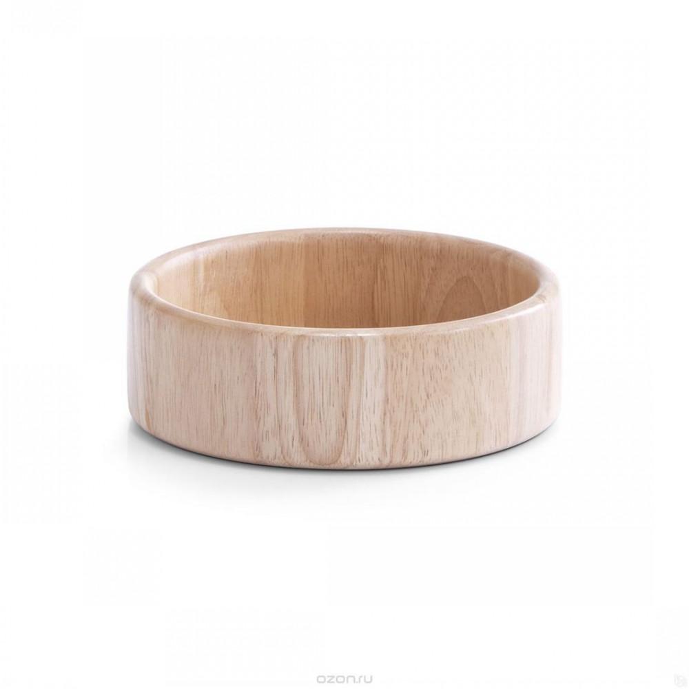 Миска салатнаяОригинальная деревянная салатница Zeller прекрасно подойдет для вашей кухни. Предназначена для красивой сервировки салатов. Изящный дизайн придется по вкусу и ценителям классики, и тем, кто предпочитает утонченность и изысканность.<br>