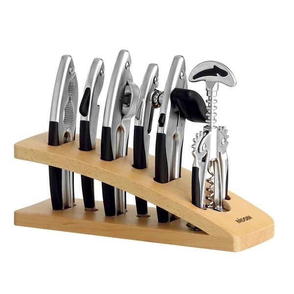 Набор инструментов 7 предметов Nadoba Undina матовый хром