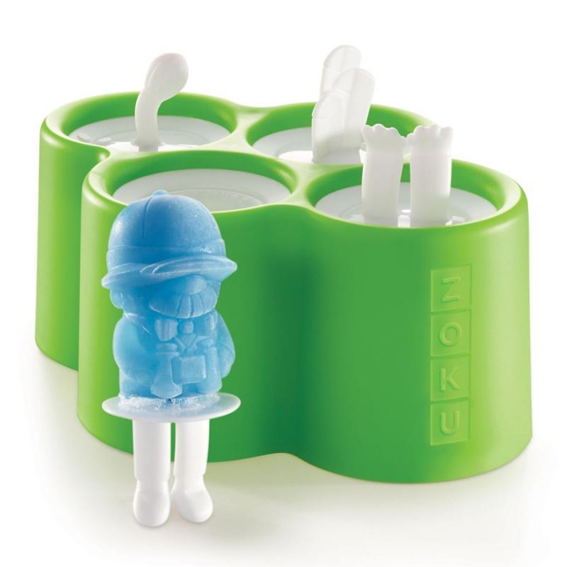 Форма для мороженого Zoku Safari 4 шт.