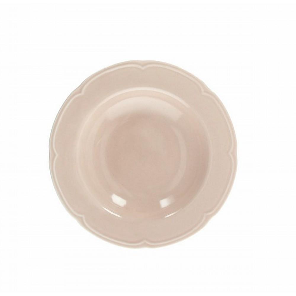 Тарелка суповая FAVOLA BEIGEТарелка для супа фирмы Tognana сделана из высококачественного фарфора. Имея оригинальный дизайн, тарелка отлично подойдет для украшения и сервировки ваших блюд. Этот элемент посуды является неотъемлемым на любой кухне.<br>