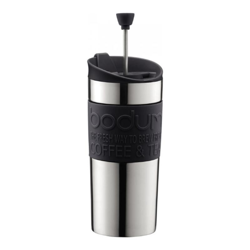 Кофейник с прессом Travel 0,35 л черный