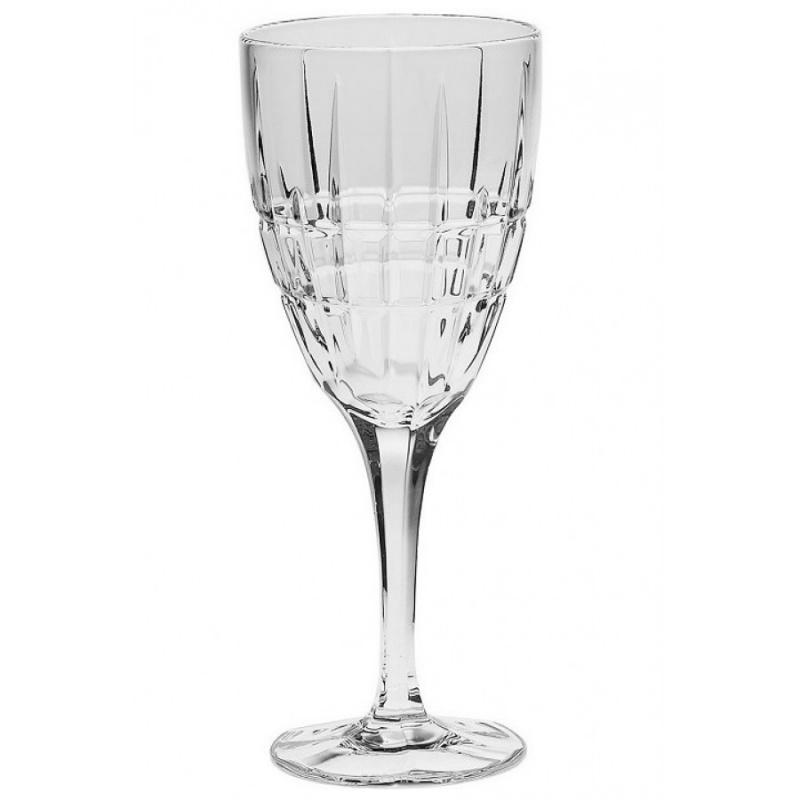 Набор бокалов для вина 250 мл Dover Crystal Bohemia 6 шт