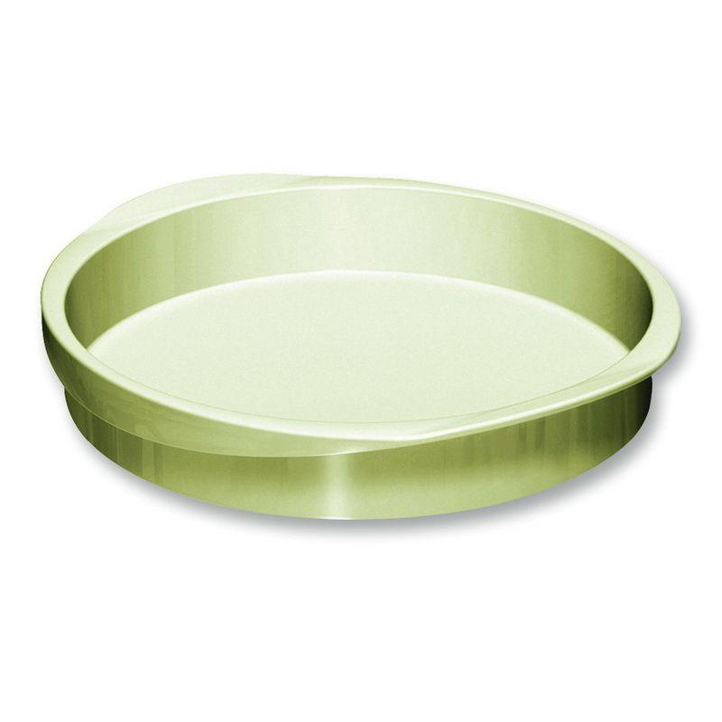 Силиконовая форма для пирогаФорма для пирога – незаменимая вещь в арсенале каждого кондитера. Изделие выполнено из силикона, благодаря чему пирог легко вынимается из формы и не деформируются в процессе выпечки. Форма легко неприхотлива в уходе и допускает очищение в посудомоечной машине.<br>