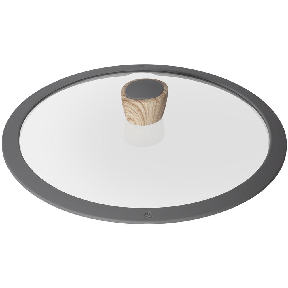 Стеклянная крышка с силиконовым ободомNadoba производит высококачественные кухонные инструменты и аксессуары, что подтверждается длительным сроком гарантии. Крышка необходима в каждом доме. Вы останетесь довольны ее качеством и эргономичностью.<br>