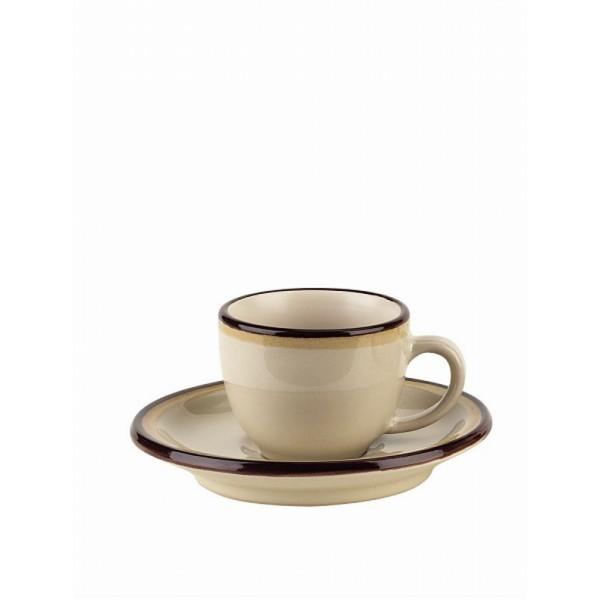 Чашка с блюдцем кофейная FOGOLAR AUTUMNКофейный набор на одну персону FOGOLAR AUTUMN понравится любителям кофе. Соберите всю коллекцию предметов сервировки FOGOLAR AUTUMN и ваши гости будут в восторге! Изделие имеет подарочную упаковку, поэтому станет желанным подарком для ваших близких!<br>