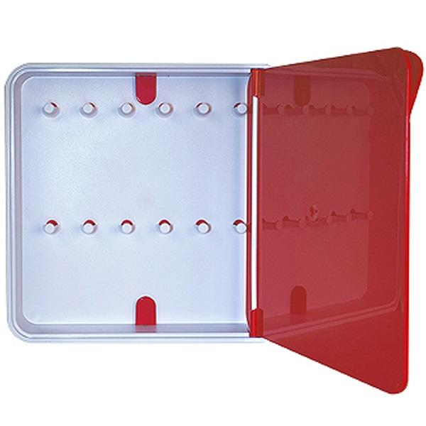 Ящик для ключей ByLine Красный
