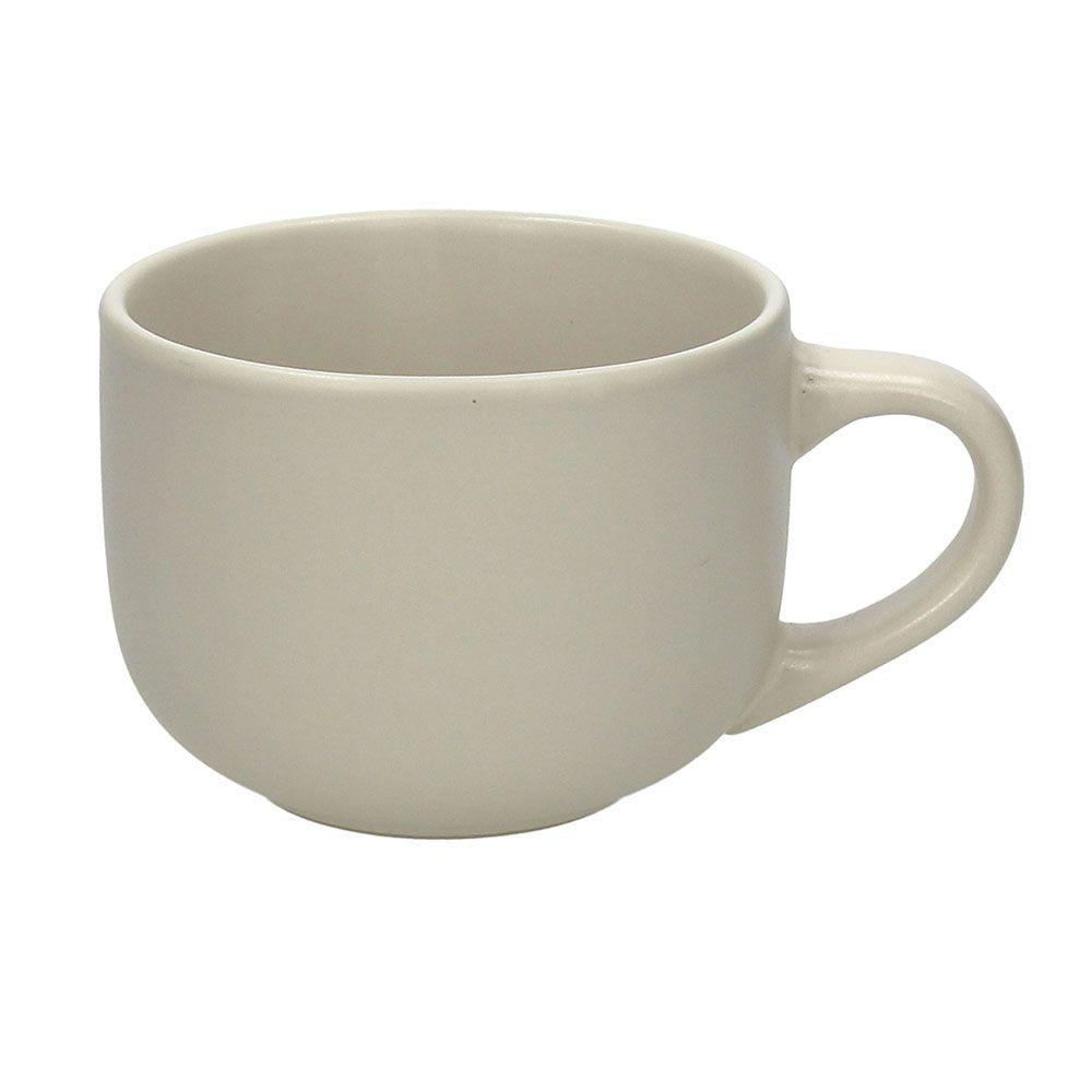 Чашка для завтрака 580 мл. RUSTICAL BEIGE MATT