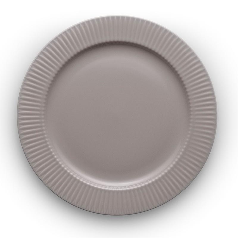 Тарелка круглая Eva Solo Legio Nova 28 см серая