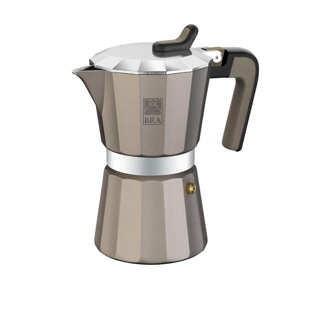 Кофеварка гейзерная на 9 чашек TITANIUMКофеварка TITANIUM от Pintinox поможет вам приготовить незабываемый кофе. Вы, все ваши домочадцы и гости останутся довольны вкусом кофе.<br>