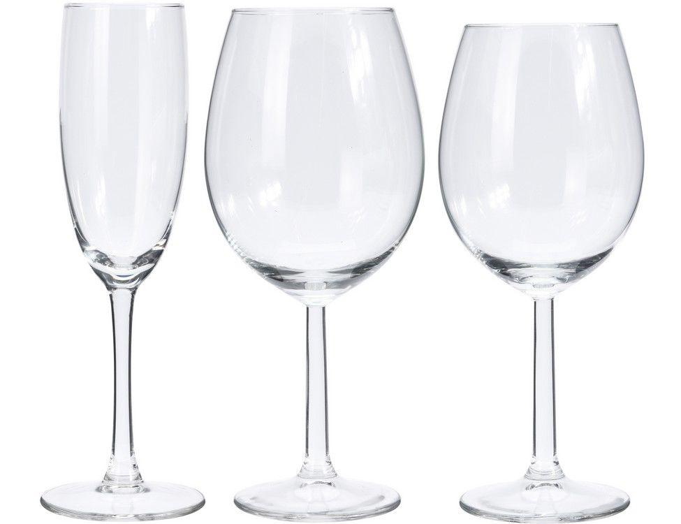 Набор бокалов для вина и шампанского 18 шт Koopman