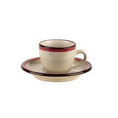 Чашка с блюдцем чайная FOGOLAR SUMMER 210 млЧашка чайная с блюдцем FOGOLAR WINTER - это образец изысканной формы и элегантного декора. Стиль и высокое качество качество - отличительные черты продукции Tognana.<br>