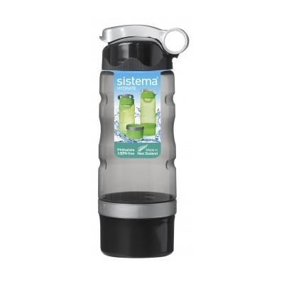 Бутылка спортивная питьеваяSistema Plastics существует более 30 лет, производит качественную, эргономичную и безопасную посуду для ежедневного использования. Бутылка спортивная питьевая найдет свое место на каждой кухне. Внимание! Заранее выбрать цвет не представляется возможным.<br>
