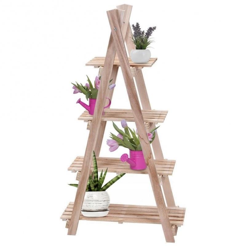 Деревянная этажерка для цветов Excellent Houseware