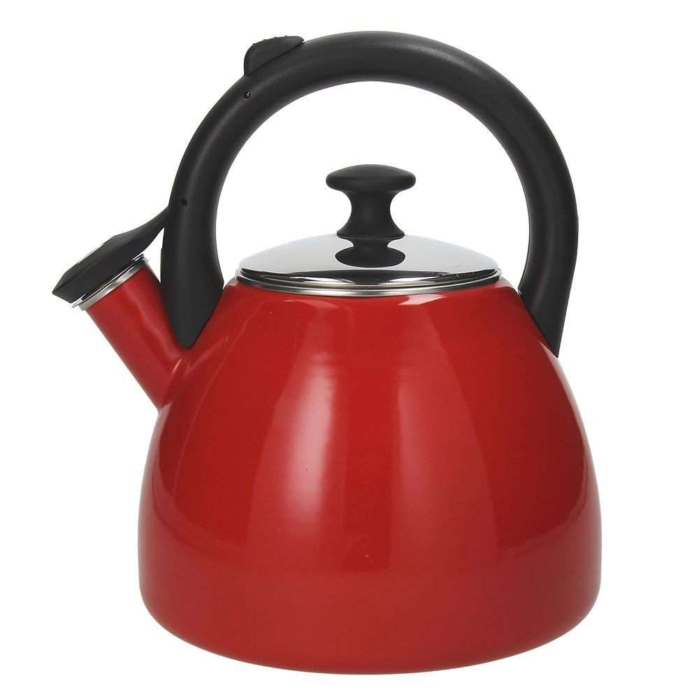Чайник 2,5 л. DINAMIKA ROSSOЧайник 2,5 л DINAMIKA   ROSSO<br>