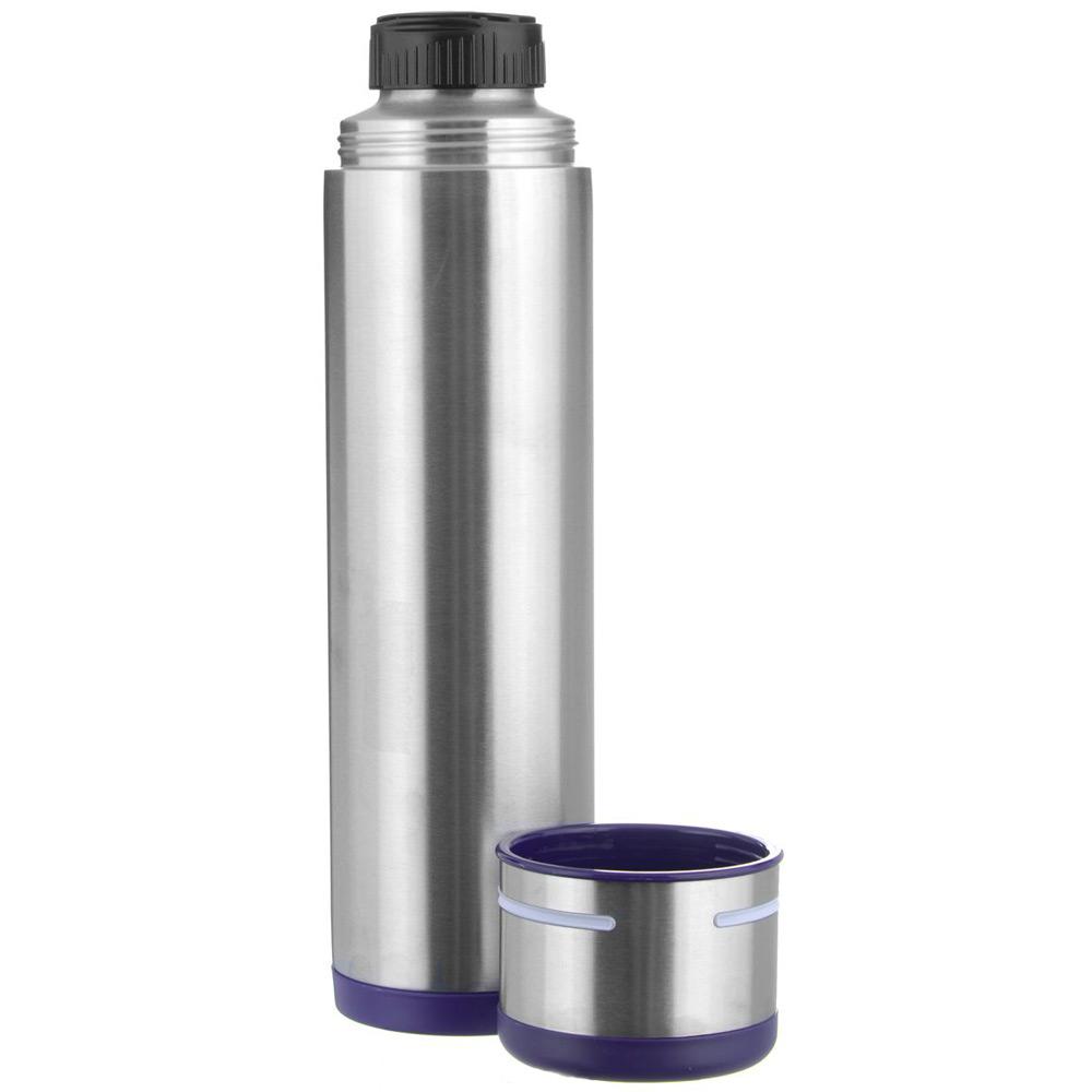 Термос 1,0 л MOBILITYТермос фирмы Emsa может сохранять ваши напитки горячими до 12 часов. Благодаря двустенной вакуумной колбе и вакуумной чаше термос надежен и герметичен. Подойдет как для заваривания чая, так и трав и ягод.<br>