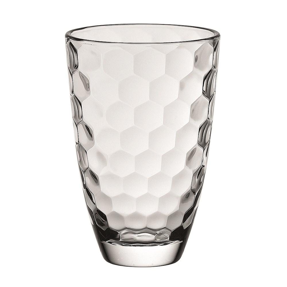 Ваза HONEY, 30 смВаза итальянского производителя Vidivi изготовлена из высококачественного стекла. Имеет необычную форму и текстуру стекла. Интересный и оригинальный дизайн украсит ваш интерьер и придаст ему изюминки.<br>