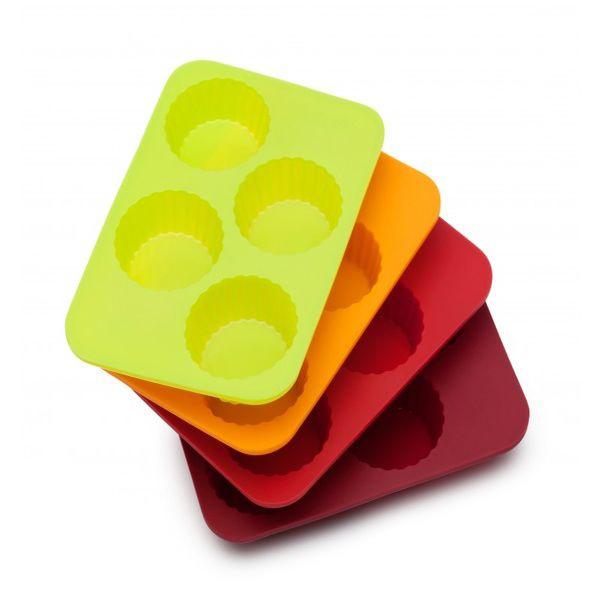 Набор мини-форм для тарталетокOursson - швейцарский бренд. Превосходные эргономичные предметы быта этой марки превзойдут все ваши представления о стильных и качественных вещах. Набор форм для выпечки - один из таких примеров, которым вы останетесь довольны.<br>