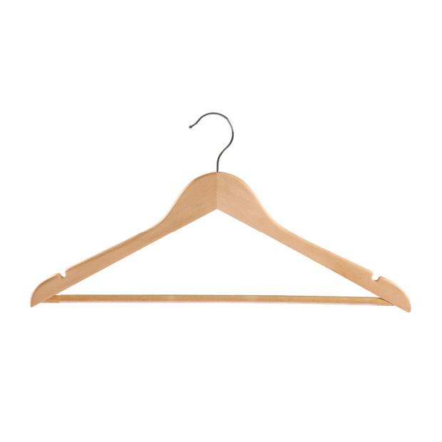 Вешалка для одежды деревянная Yikai